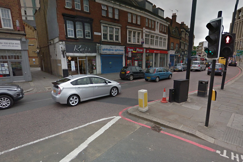 The women were struck by the car in the early hours of Sunday: Google