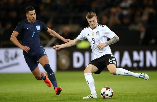 Toni Kroos (right) is a star for club and country (Nick Potts/PA)