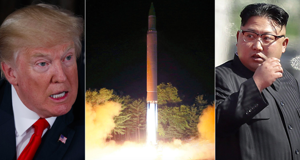 <em>North Korea has threatened to strike the US after Donald Trump's comments (Rex)</em>