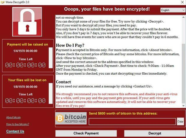 Ransomware and other cyber tools can be used to wage war and likely have already been deployed. Source: AP