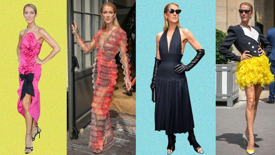212632f6c81 Celine Dion Hits Paris Couture Week Again, and of Course It's ...