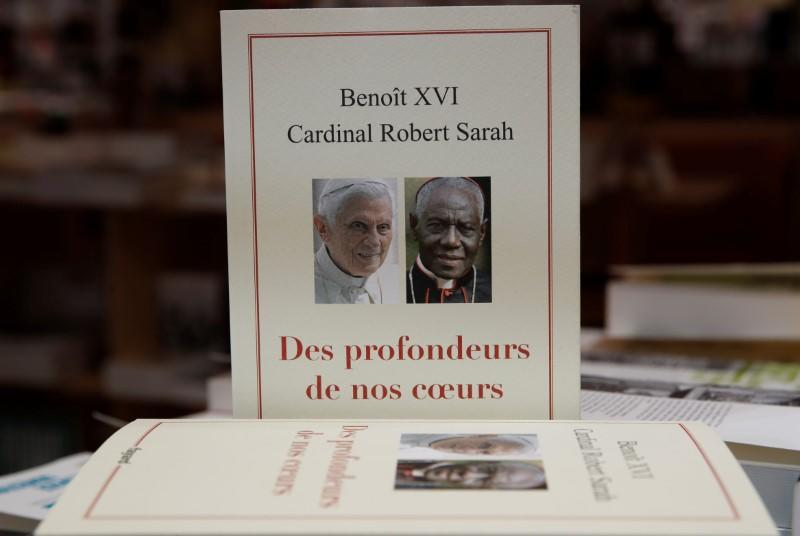 "Ex-pope Benedict XVI book ""From the Depths of Our Hearts"" launches in France"