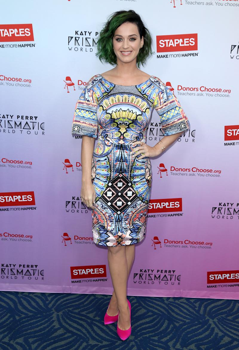 Katy Perry to support education during US tour