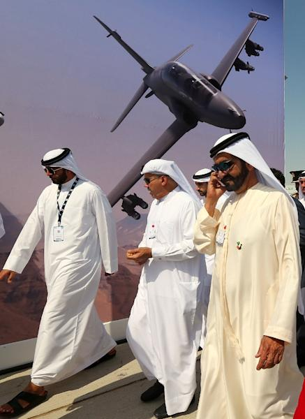 At this year's Dubai Airshow the expectations are low for major orders matching the multi-billion-dollar sales generated at the last edition of the biennial fair (AFP Photo/Marwan Naamani)