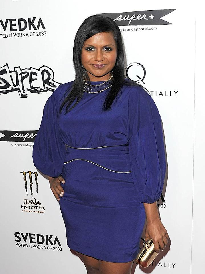 """The Office's"" Mindy Kaling turns 32 Jason Merritt/<a href=""http://www.gettyimages.com/"" target=""new"">GettyImages.com</a> - March 19, 2011"