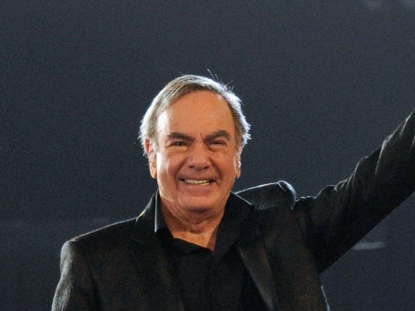 Neil Diamond song 'Sweet Caroline' has become an England football anthem (Getty Images)