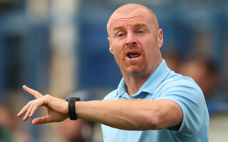Sean Dyche leads Burnley into Europe this week - REUTERS