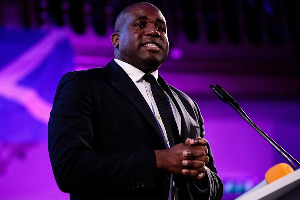 Labour MP David Lammy has criticised the Tory's for the rebrand (Photo: Jack Taylor/Getty Images) (Getty Images)