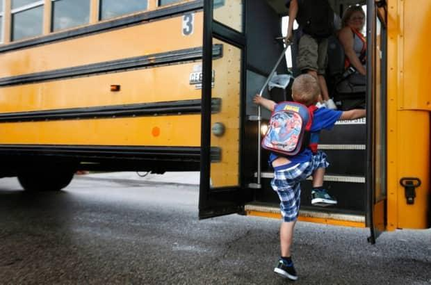 More than a thousand parents in the northern Okanagan region have joined an online petition against the Vernon School District's proposed increase of school bus fees from $25 to $200 for most students in the next academic year. (Associated Press - image credit)