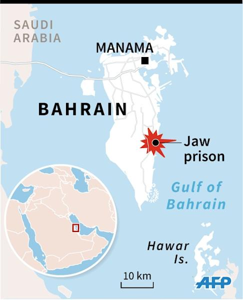 Ten inmates escaped Bahrain's central prison south of Manama in a deadly attack on January 1 (AFP Photo/I.de Véricourt/V.Lefai)