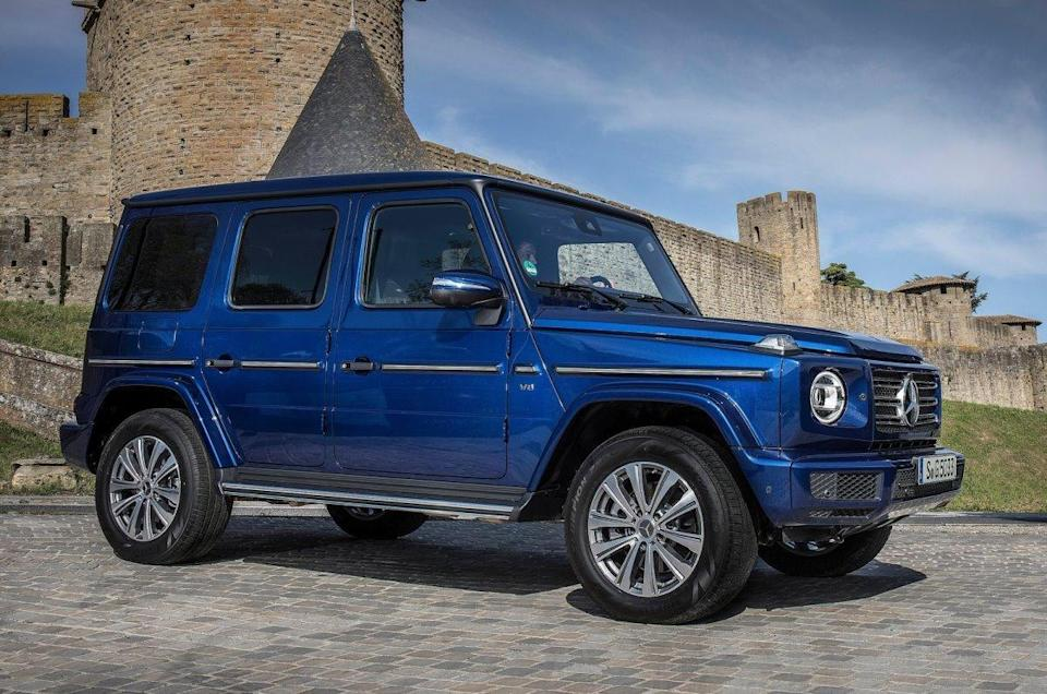 Mercedes-Benz G-class: Used for representation only.