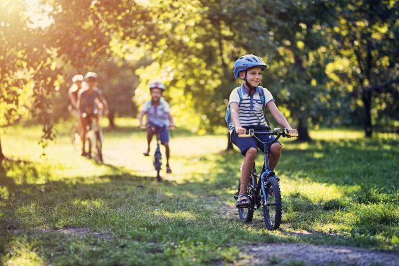 Half of cycle network 'unsafe' for children