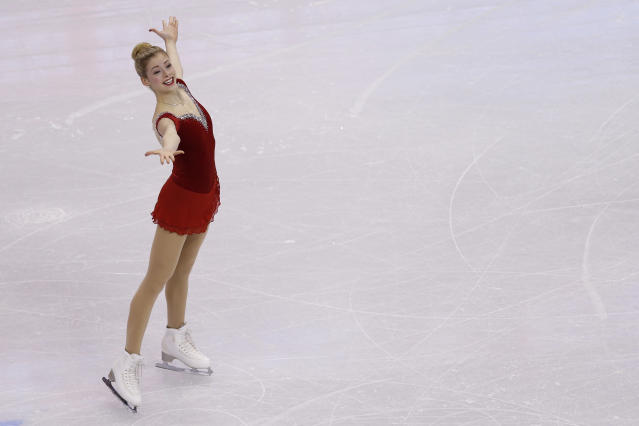 Gracie Gold leads after short program at U.S. figure skating championships