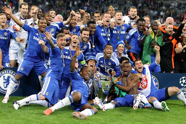 With Liverpool and Tottenham in the Champions League final, an English club will be crowned Europe's best for the first time since Chelsea (right) in 2012. (Lee Smith/Action)