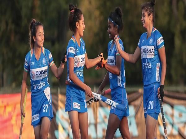 Indian junior women's hockey team beat Chile senior women's team 3-2 (Photo/ Hockey India website)