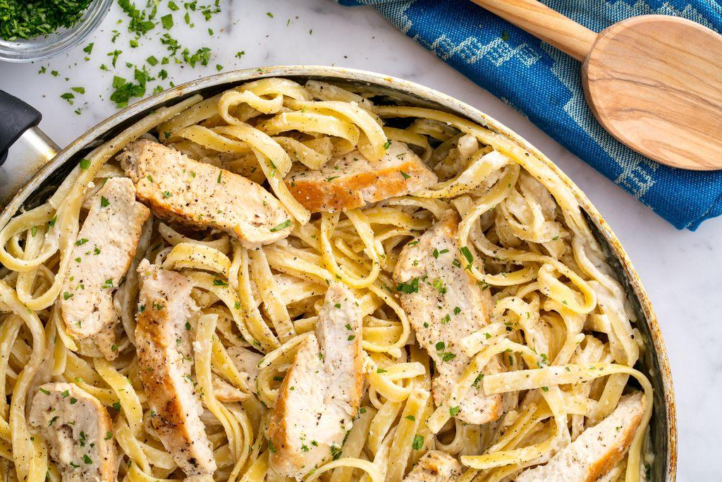 """<p>These <a href=""""/cooking/recipe-ideas/g2972/chicken-weeknight-dinners/"""">chicken dinners</a> are the opposite of boring. From soups to casseroles to easy slow cooker recipes, we've got something for every night of the week...and then some. Plus, make one of these <a href=""""http://www.delish.com/cooking/g4573/side-dishes-for-chicken/"""">sides that go perfectly with chicken</a>.</p>"""