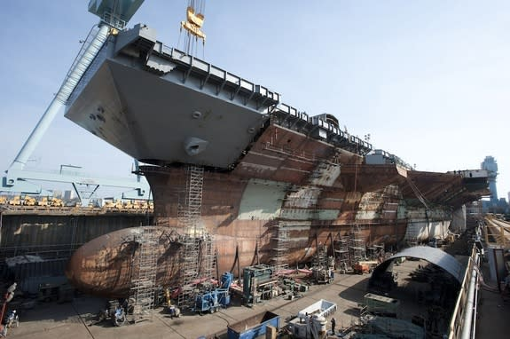 US Navy's New Aircraft Carriers Will Be Massive 'Floating Cities'