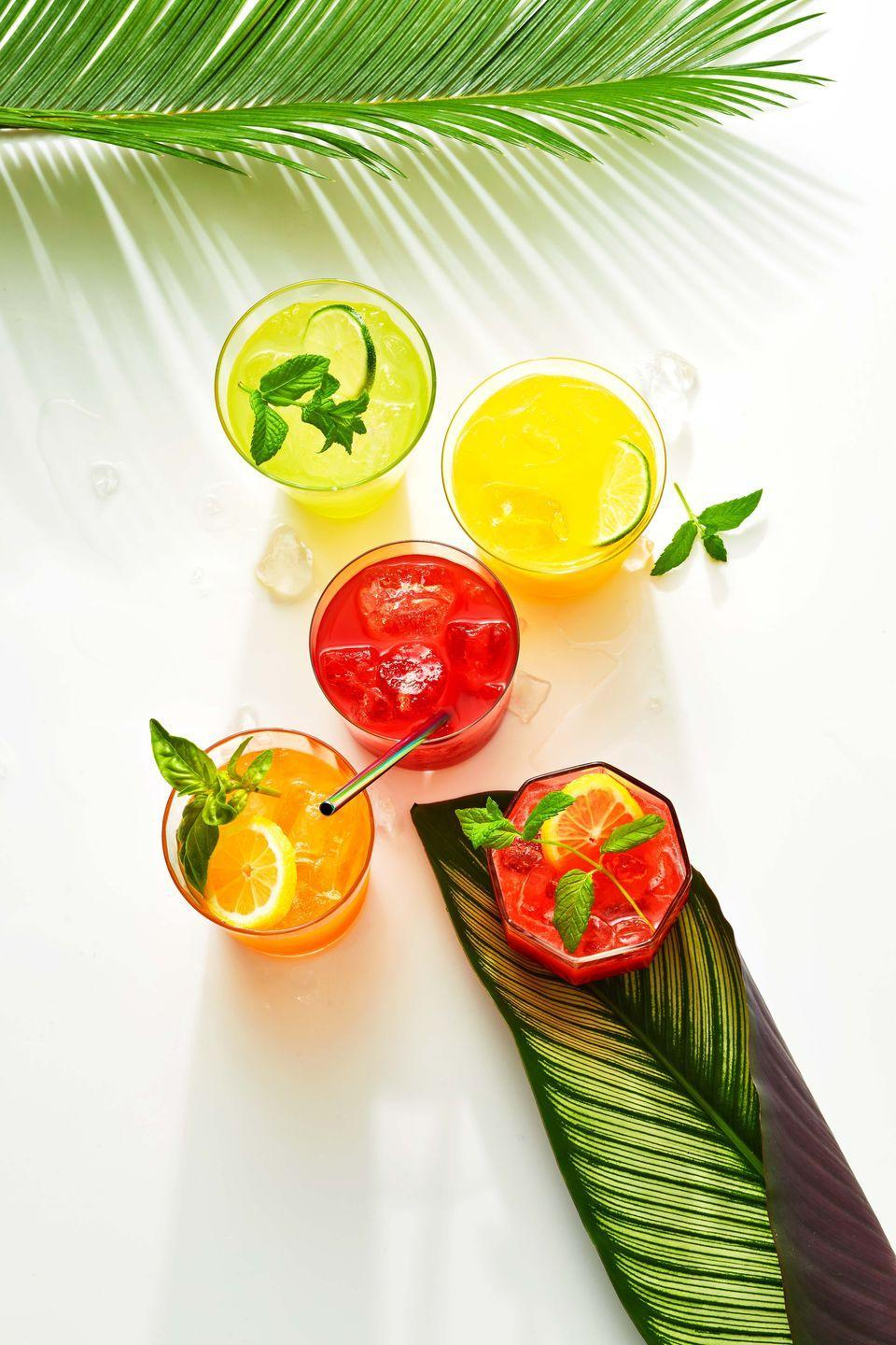 """<p>This thirst-quenching Mexican drink is made from a combo of fruit blended with lime juice, a sweetener and water and served over ice. Pair it with an easy <a href=""""https://www.goodhousekeeping.com/food-recipes/easy/g2352/quick-summer-dinner-recipes/"""" rel=""""nofollow noopener"""" target=""""_blank"""" data-ylk=""""slk:summer dinner"""" class=""""link rapid-noclick-resp"""">summer dinner</a> to stay cool!</p><p><em><a href=""""https://www.goodhousekeeping.com/food-recipes/a36686608/agua-fresca-recipe/"""" rel=""""nofollow noopener"""" target=""""_blank"""" data-ylk=""""slk:Get the recipe for Agua Fresca »"""" class=""""link rapid-noclick-resp"""">Get the recipe for Agua Fresca »</a></em></p><p><strong>RELATED: </strong><a href=""""https://www.goodhousekeeping.com/food-recipes/cooking/a36109179/grilling-for-beginners/"""" rel=""""nofollow noopener"""" target=""""_blank"""" data-ylk=""""slk:Ultimate Guide to Grilling"""" class=""""link rapid-noclick-resp"""">Ultimate Guide to Grilling</a></p>"""
