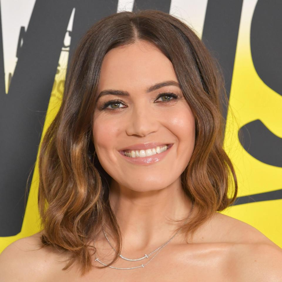 """<p>Highlights are a beautiful way to give dimension to any hair color, especially brown hair. Adding some warm highlights to your brunette hue is a great choice for a fall refresh, especially these days.</p> <p>""""Colors [are] a bit warmed up — not brassy, of course,"""" explains colorist Rita Hazan. If you're able to reach the salon, ask your colorist for hues like """"caramel, chocolate, [and] warm ginger."""" Of course, execution will depend on your skin tone, but golden, caramel, warm-toned highlights will add a spiciness to your hair color like they do here for Mandy Moore. </p>"""