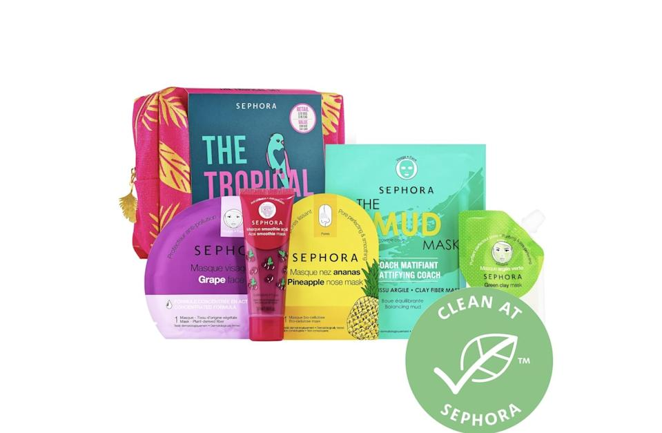 <p>Indulge in some self care with this <span>Sephora Collection Tropical Set</span> ($12).</p>