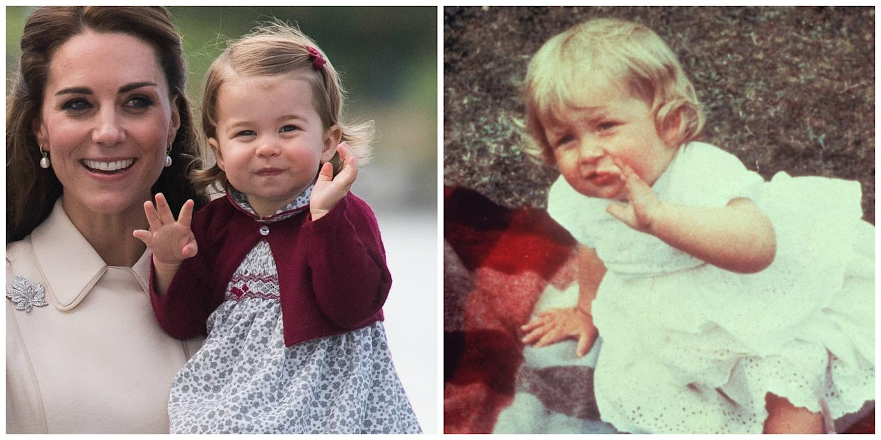 <p>The royal todler, who has often been compared to the Queen and her mum, Kate Middleton, also looks strikingly similar to her late grandmother, Princess Diana. Photo: Getty Images </p>