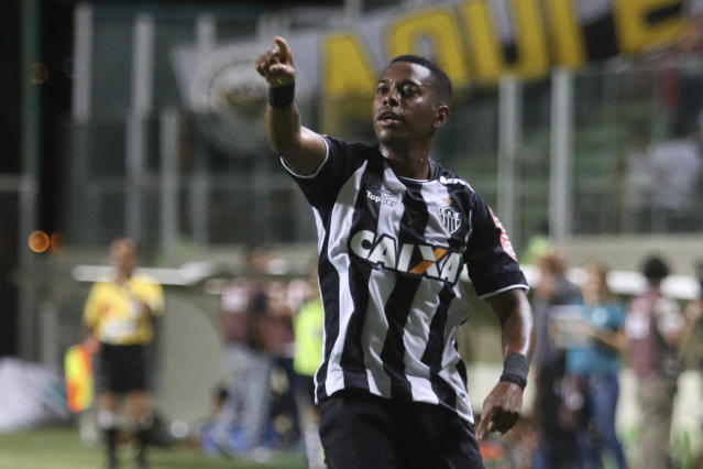 Robinho durante sua passagem pelo Atlético-MG (Doug Patricio/Brazil Photo Press/LatinContent via Getty Images)