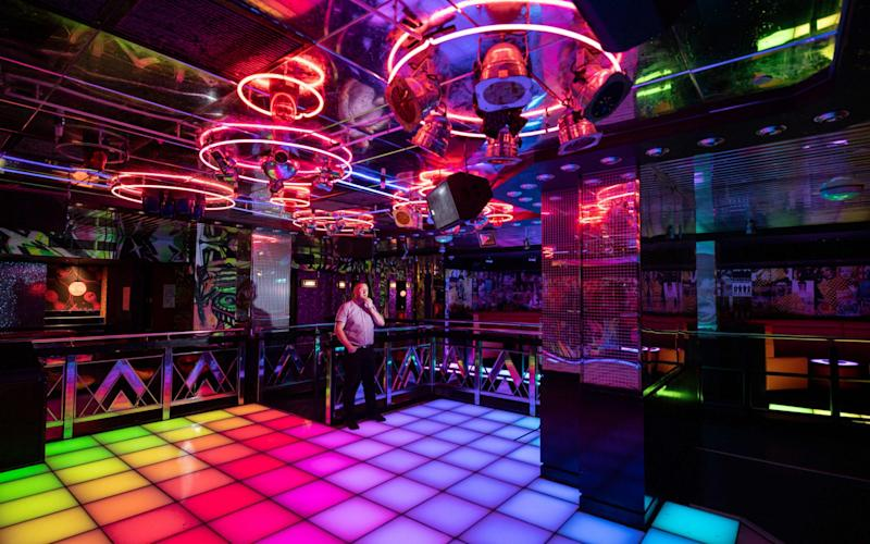 Ghost town: PRYZM nightclub in Newcastle remains shut for the near future
