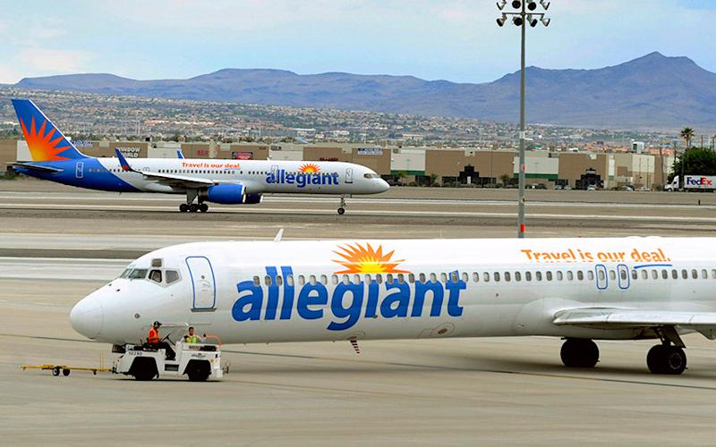 Allegiant was the focus of a 60 Minutes programme - AP