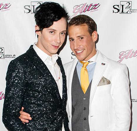 "Johnny Weir Calls Marriage to Victor Voronov ""Threatening"": ""Friends Have Seen Him Hit Me"""