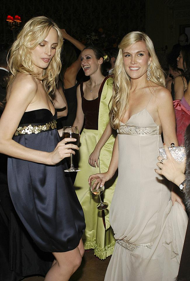 With Lauren Santo Domingo at the Young Fellows of the Frick Collection Gala, 2005
