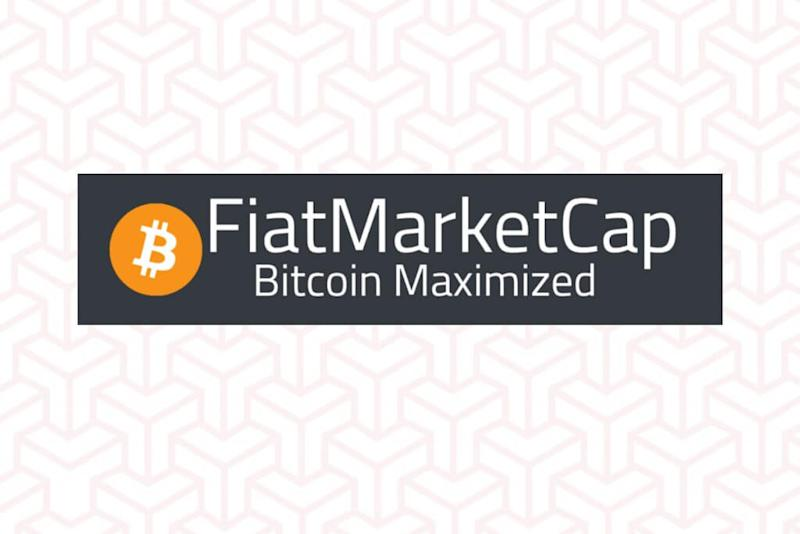 You can now measure fiat market caps against Bitcoin