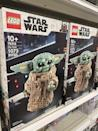 <p>Kids and adults alike have been freaking out over this <span>LEGO Star Wars: <strong>The Mandalorian</strong> The Child Collectible Buildable Toy</span> ($80) - I'm predicting it will sell out before the holiday season even begins. If I were you, I'd grab one ASAP.</p>