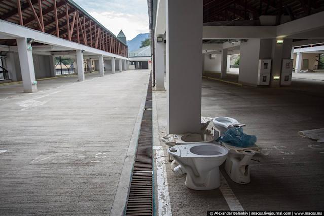 sochi mountain cluster ghost city 2014 olympics 2