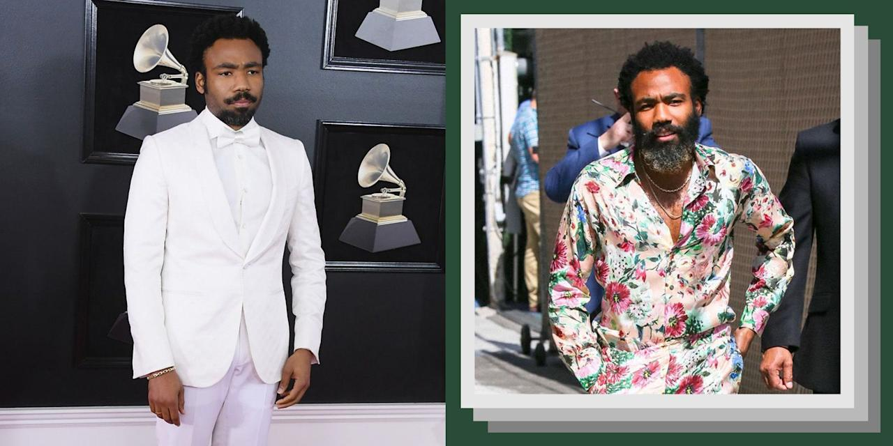 "<p>There are plenty of men in Hollywood who can put together a solid red carpet look. But few approach both their red carpet and their off duty style with as much boldness, individuality, and unflappable cool as Donald Glover. From retro-inspired fits, to bold-patterned suits, to <a href=""https://www.esquire.com/style/mens-fashion/a28349598/donald-glover-lion-king-basic-rights-shirt/"" target=""_blank"">low-key basics</a>, to, as we saw more recently, <a href=""https://www.esquire.com/uk/style/a28346088/donald-glovers-pyjama-suit-style/"" target=""_blank"">floral silk pajamas</a>, Glover can run the style gamut without looking like he's trying too hard. Even when his fits are on the more adventurous side, he never looks over the top. It's a testament to both his eye for great style, and to the power of a little swagger.  </p>"