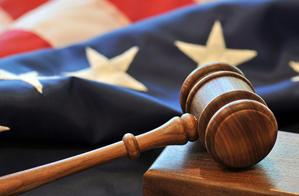 Flag and gavel (photo: Thinkstock)