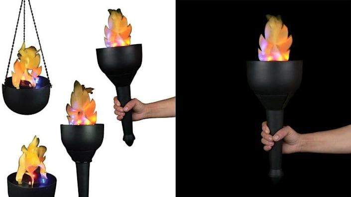Light the way at your own opening ceremony with this torch.