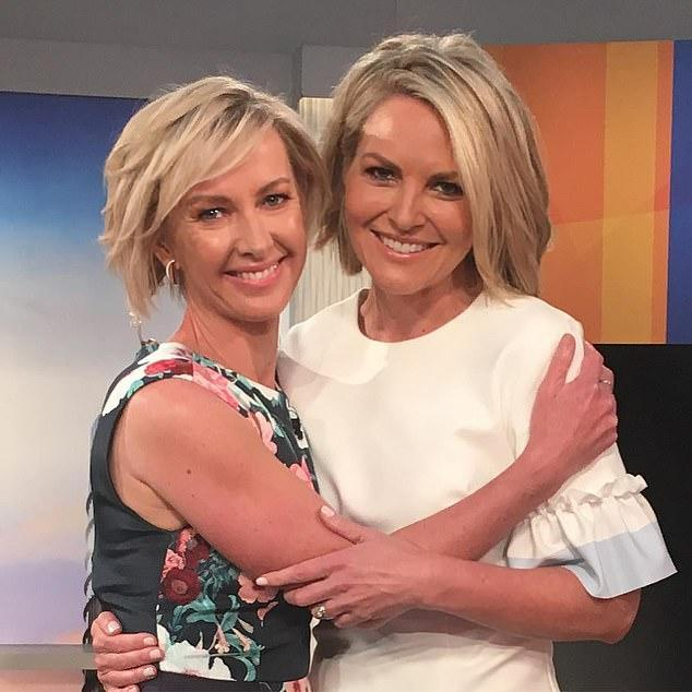 Deborah Knight and Georgie Gardner front the Today show after Karl Stefanovic was axed last year. Photo: Instagram