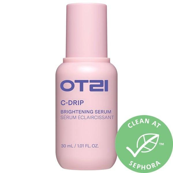 <p>Boost skin's glow thanks to the antioxidant-rich fruits (like green plum and ginseng berry) alongside the vitamin C in this <span>OTZI C-Drip Vitamin C Brightening Serum</span> ($35).</p>