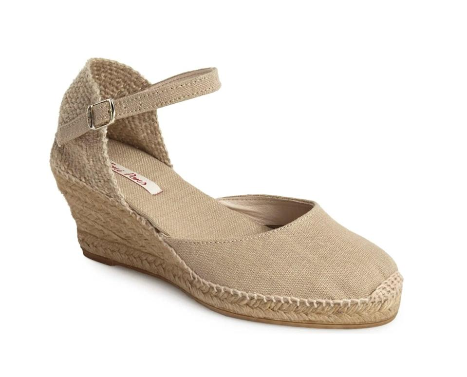 <p>This <span>Toni Pons 'Caldes' Linen Wedge Sandal</span> ($120) is a stylish and versatile pick for everyday outings.</p>