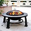 <p>This sturdy <span>Round Slate Fire Pit</span> ($115) is portable and easy to use.</p>