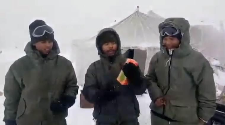 Siachen, Siachen videos, Siachen video, Siachen soldier video, Siachen army video, indian army siachen video, siachen glacier, siachen glacier video, siachen food, indian army, indian army siachen, indian army videos, indian express, latest news