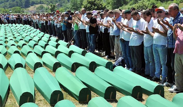 Serb and Muslim communities live side-by-side in Srebrenica but by no means together, still distrustful more than two decades after the Bosnian war that claimed 100,000 lives and displaced two million people (AFP Photo/Elvis Barukcic)