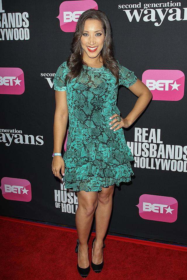"Robin Thede arrives at the screenings of BET Networks' ""Real Husbands of Hollywood"" and ""Second Generation Wayans"" held at the Regal Cinemas L.A. Live on January 8, 2013 in Los Angeles, California."