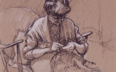 One of his sketches
