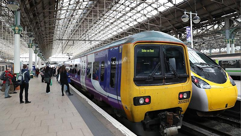 A man died shortly after boarding a train in Manchester Piccadilly and staff thought he was sleeping for five hours. Source: Getty Images