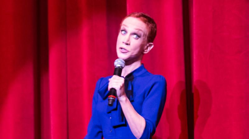 Kathy Griffin Returns To The Stage Wearing A Donald Trump Mask, Naturally