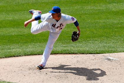 Another day, another Mets ace. (Photo by Mike Stobe/Getty Images)