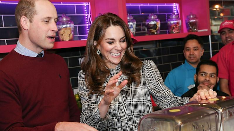 Prince William and Kate Middleton Appear in Good Spirits at First Joint Appearance Since Royal Drama