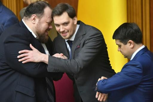 Ukrainian Prime Minister Goncharuk received the support of numerous members of parliament