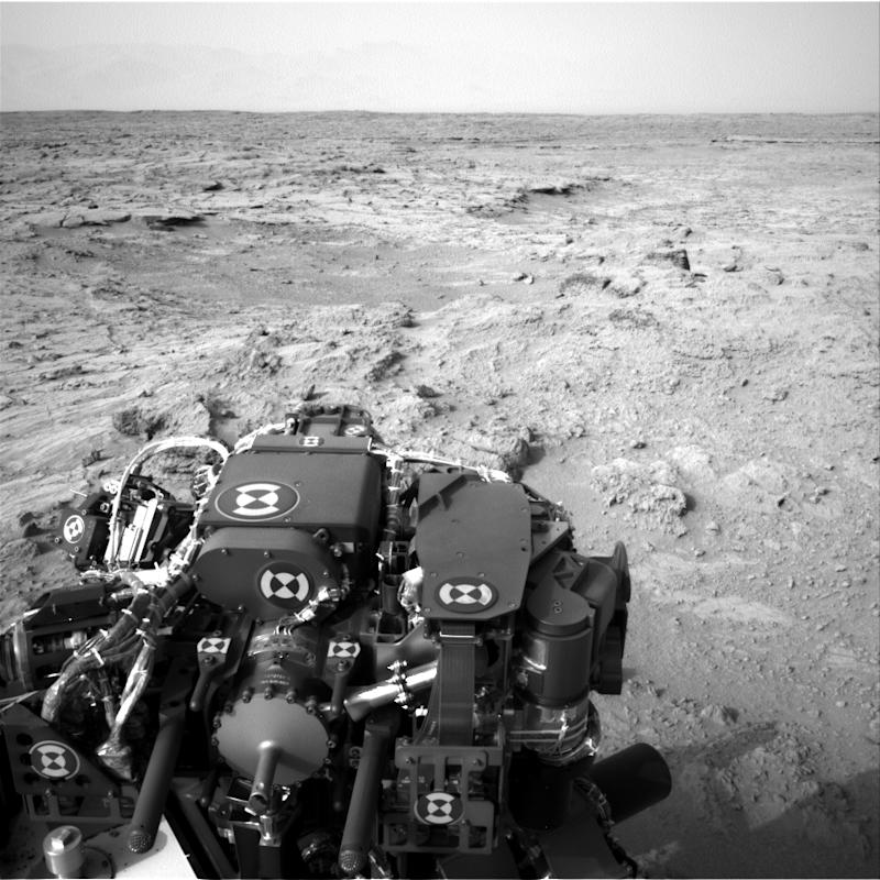 The head of the Curiosity team says it is on the verge of a 'historic' announcement (Image: NASA)